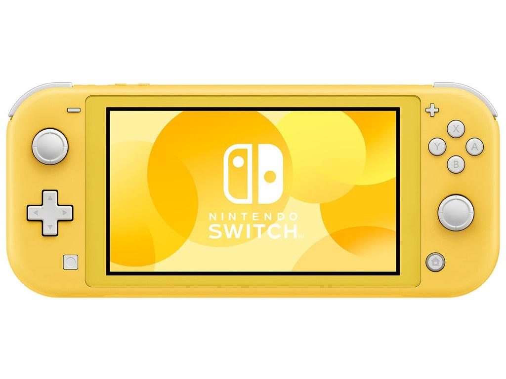 Фото - Игровая приставка Nintendo Switch Lite Yellow игровая приставка nintendo switch lite grey