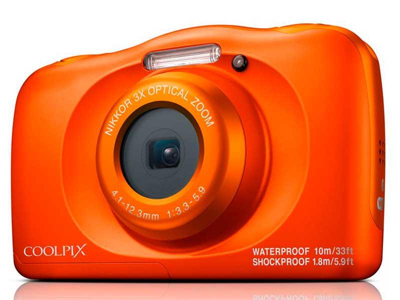 конструктор фотоаппарат Фотоаппарат Nikon Coolpix W150 Orange