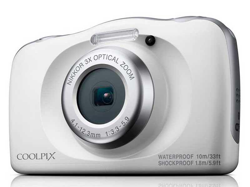 конструктор фотоаппарат Фотоаппарат Nikon Coolpix W150 White
