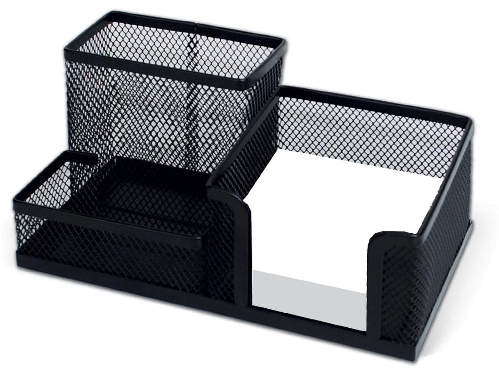 Подставка-органайзер Brauberg Germanium Black 231986
