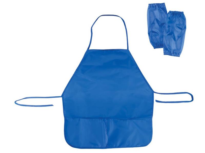 фартук с нарукавниками мульти пульти приключения енота blue 245208 фт 13484 Фартук с нарукавниками Пифагор 45x50cm Blue 103121