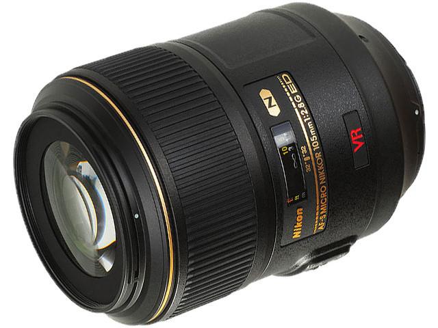 Объектив Nikon Nikkor AF-S 105 mm F/2.8 G IF-ED VR Micro