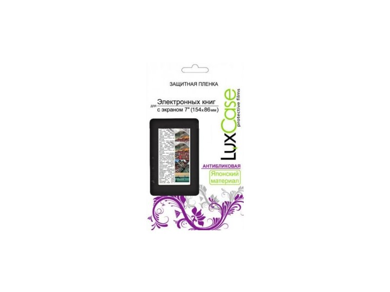 Аксессуар Защитная пленка LuxCase 7.0 антибликовая 154x86mm 80126