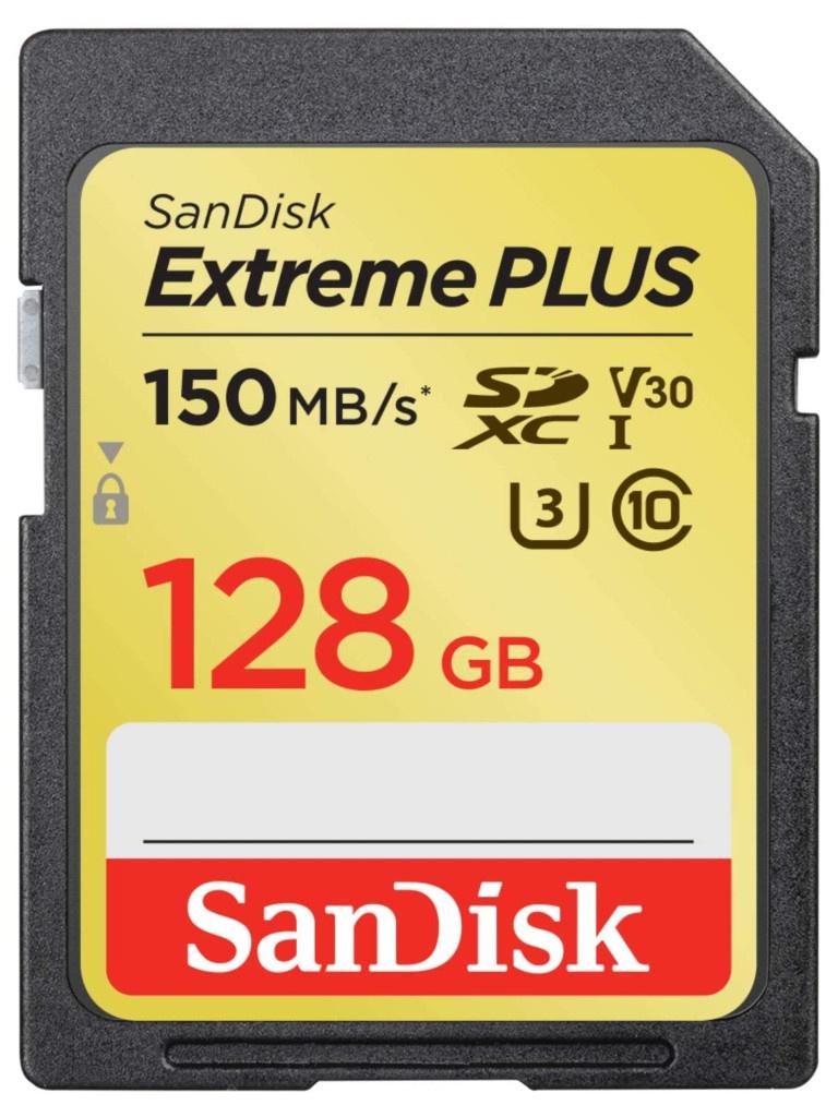 Фото - Карта памяти 128Gb - SanDisk Extreme Plus - Secure Digital XC Class 10 UHS-I SDSDXW5-128G-GNCIN карта памяти 256gb sandisk extreme pro secure digital xc