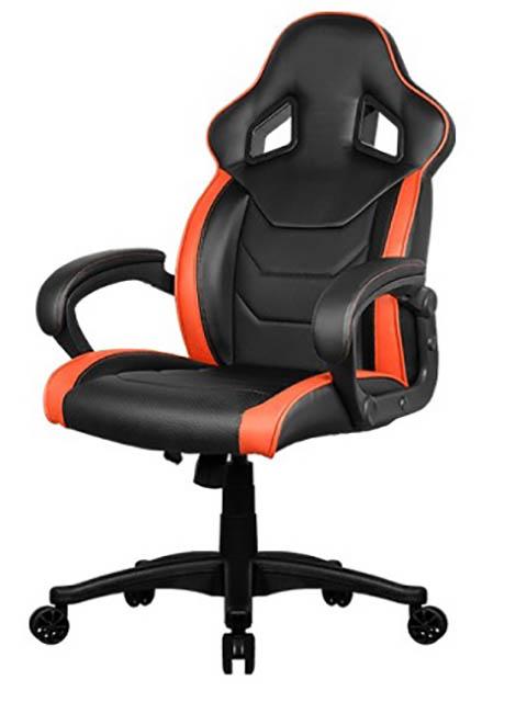 компьютерное кресло aerocool ac40c air black red Компьютерное кресло AeroCool AC60C AIR-BO Black-Orange
