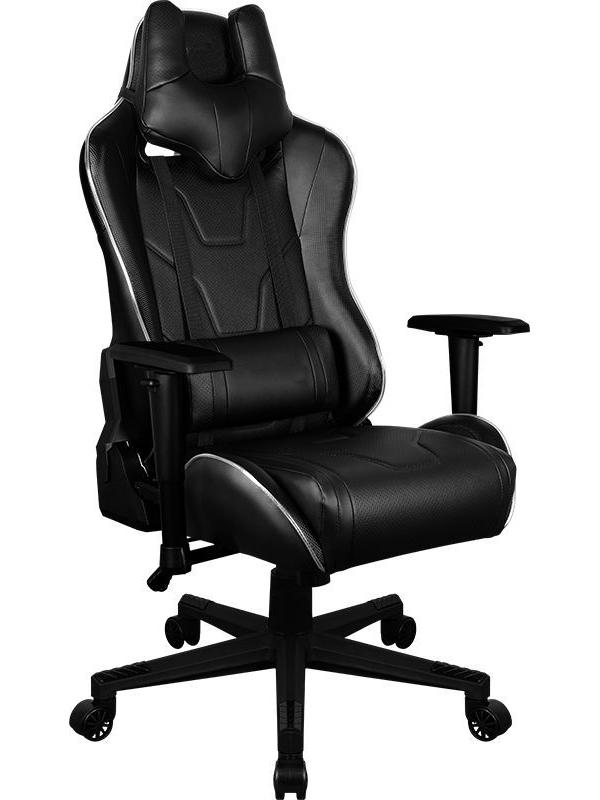 компьютерное кресло aerocool ac40c air black red Компьютерное кресло AeroCool AC220 RGB-B Black
