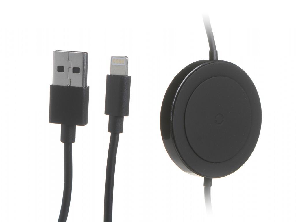 Зарядное устройство Baseus iP Cable Wireless Charger Black WXCA-01