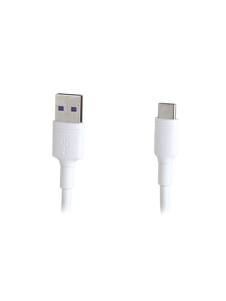 Фото - Аксессуар Baseus Double-ring USB - USB Type-C 5A 2m White CATSH-C02 аксессуар baseus white series support vooc usb type c 5a 1m black catsw f01