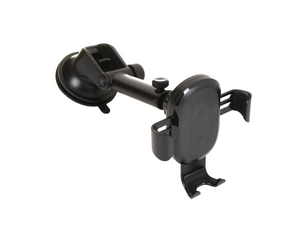 Держатель Baseus Wireless Charger Gravity Car Mount Black WXYL-A01