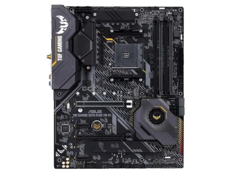 Фото - Материнская плата ASUS TUF Gaming X570-Plus (WI-FI) материнская плата asus tuf gaming b550 plus