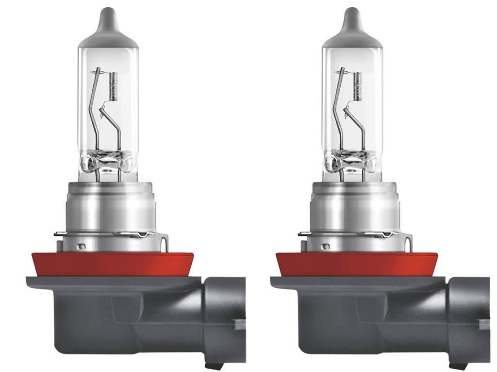 лампа osram h4 night breake laser 12v 60 55w p43t 2шт 64193nl hcb Лампа Osram H11 12V-55W PGJ19-2 2шт Ultra Life 64211ULT-HCB