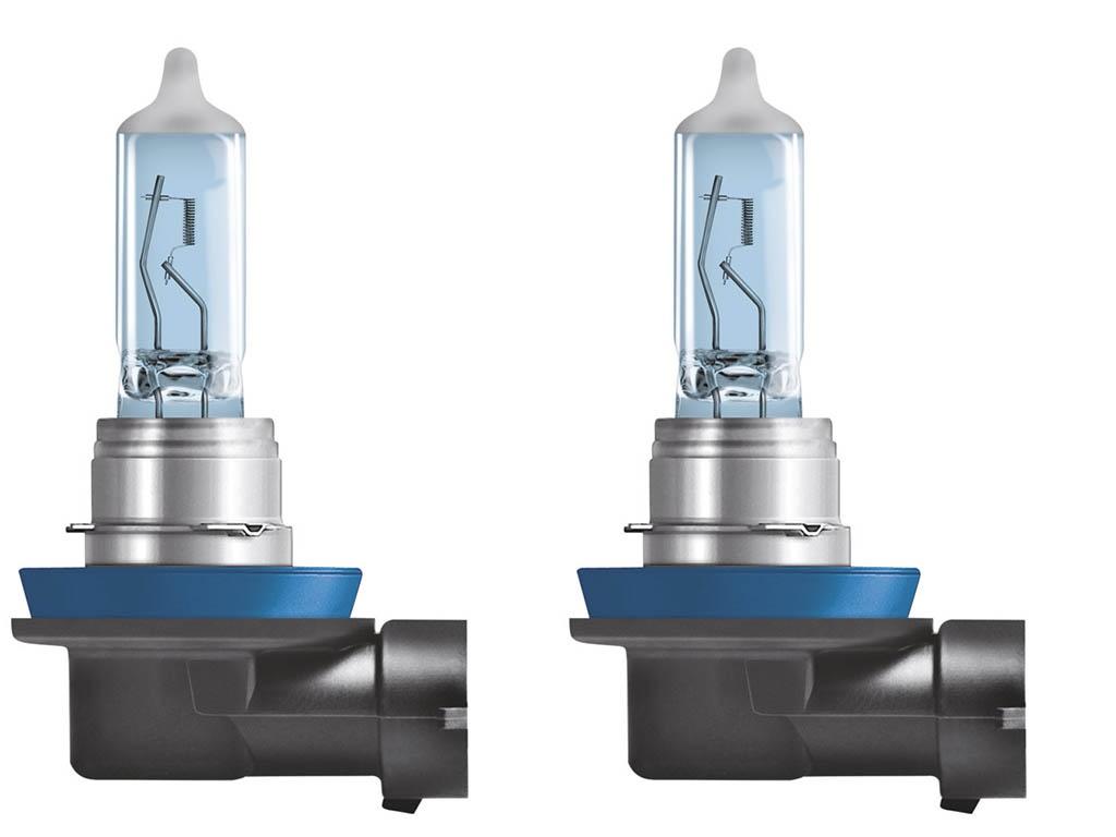 лампа osram h4 night breake laser 12v 60 55w p43t 2шт 64193nl hcb Лампа Osram H11 12V-55W PGJ19-2 2шт Cool Blue Intense 64211CBI-HCB