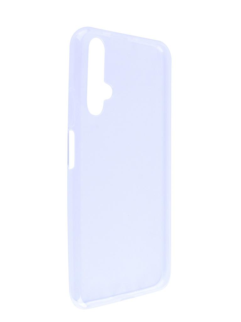 Купить Аксессуар Чехол Brosco для Honor 20 Silicone Transparent HW-H20-TPU-TRANSPARENT