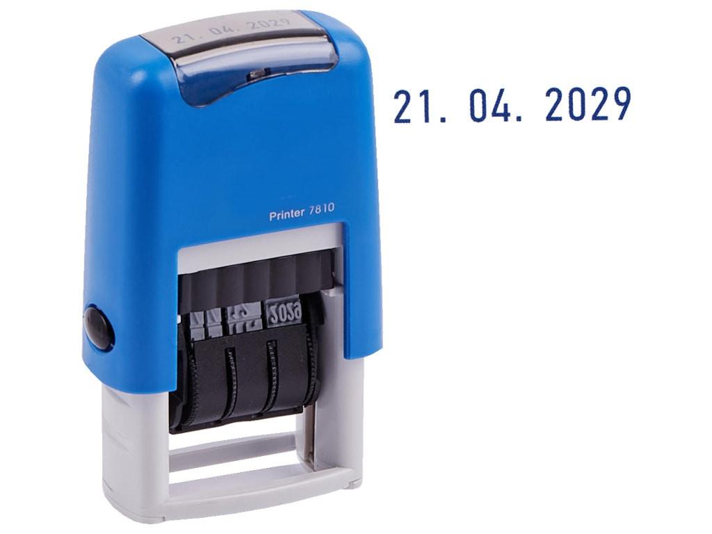 Датер ленточный Berlingo Printer 7810 1 строка 3mm Bank BSt_82202 276529