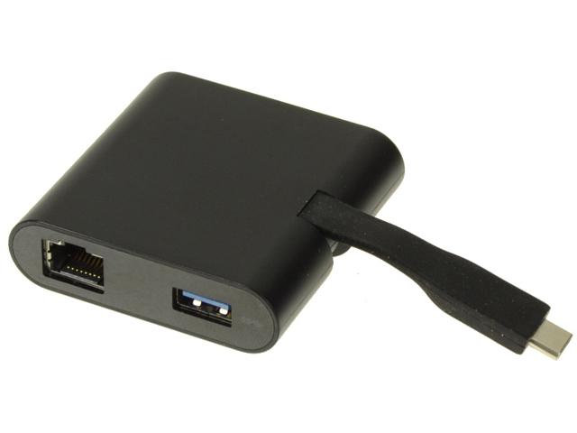 Купить Аксессуар Dell Adapter DA200 USB-C - HDMI/VGA/Ethernet/USB 3.0 470-ABRY