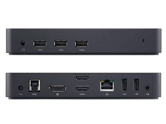 Док-станция Dell USB 3.0 Ultra HD Triple Video Docking Station D3100 452-BBOT