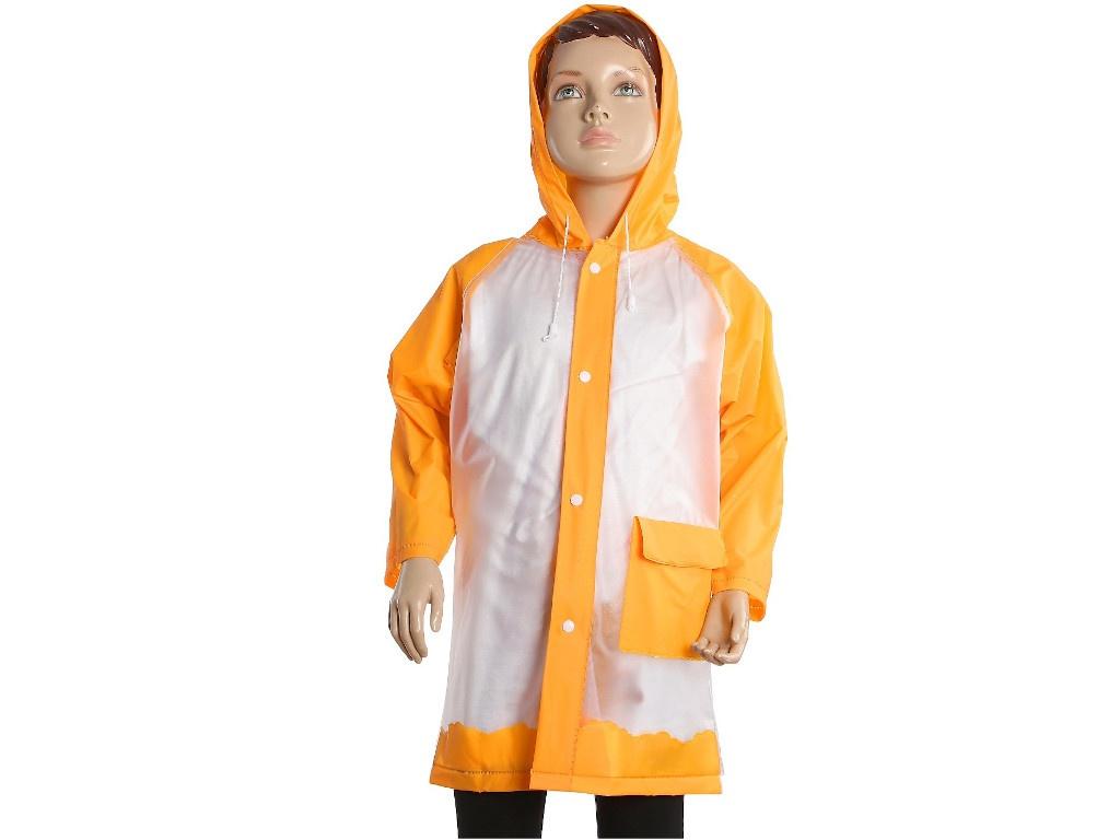 Купить Дождевик детский СИМА-ЛЕНД Гуляем под дождём р.M Orange 3136878