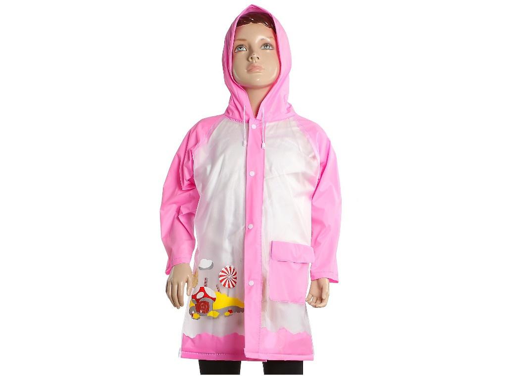 Купить Дождевик детский СИМА-ЛЕНД Домик-грибочек р.M 3136884