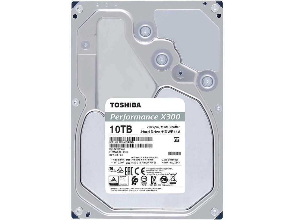 Купить Жесткий диск Toshiba X300 Performance 10Tb HDWR11AUZSVA