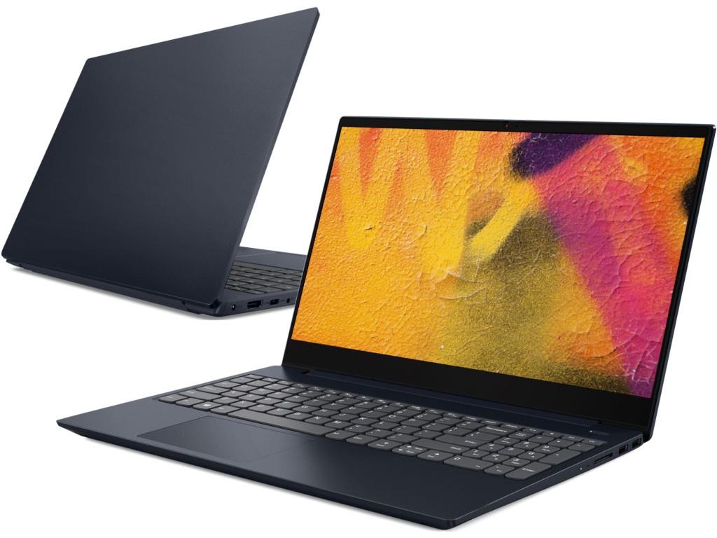 Купить Ноутбук Lenovo IdeaPad S340-15IWL Blue 81N800HQRK (Intel Pentium Gold 5405U 2.3 GHz/4096Mb/256Gb SSD/Intel HD Graphics/Wi-Fi/Bluetooth/Cam/15.6/1920x1080/DOS)