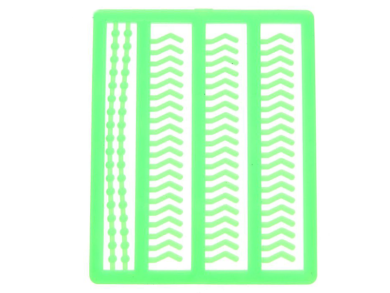 Стопор для волосяной оснастки СИМА-ЛЕНД Силиконовый Green 1067637