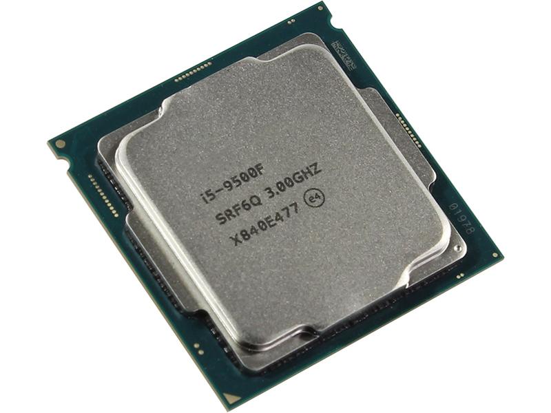 Купить Процессор Intel Core i5-9500F Coffee Lake (3000MHz/LGA1151/L3 9216Kb) CM8068403362616S RF6Q OEM