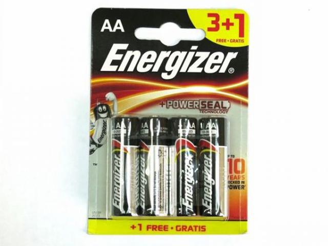 Батарейка AA - Energizer Max (3+1 штуки) E300247800 / 26091
