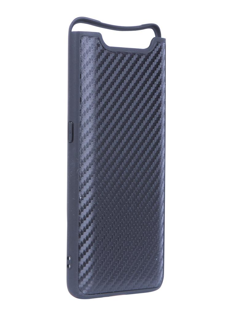 Купить Аксессуар Чехол G-Case для Samsung Galaxy A80 SM-A805F Carbon Black GG-1125