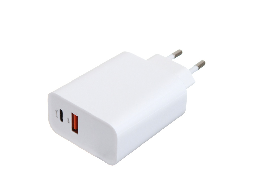 Фото - Зарядное устройство Baseus Speed PPS Quick Charger 30W / Type-C / USB EU White CCFS-C02 зарядное устройство baseus removable 2in1 universal travel adapter pps quick charger edition tzpps 01