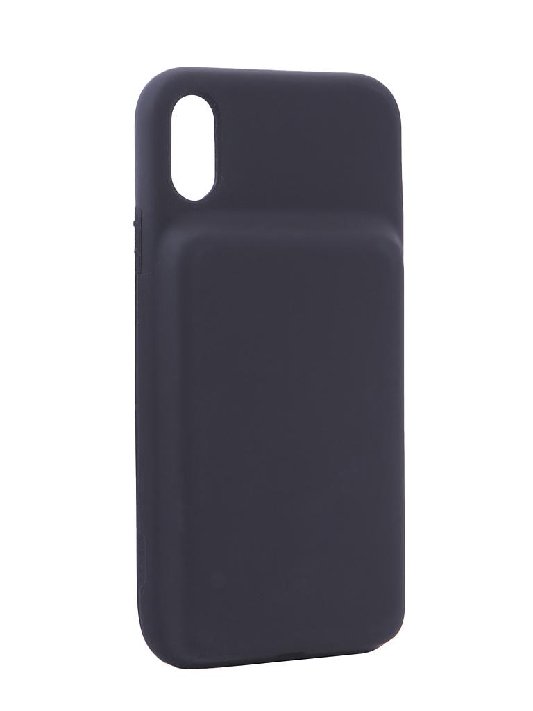 Купить Аксессуар Чехол-аккумулятор Baseus для APPLE iPhone XR Silicone Smart Backpack Power Black ACAPIPH61-BJ01