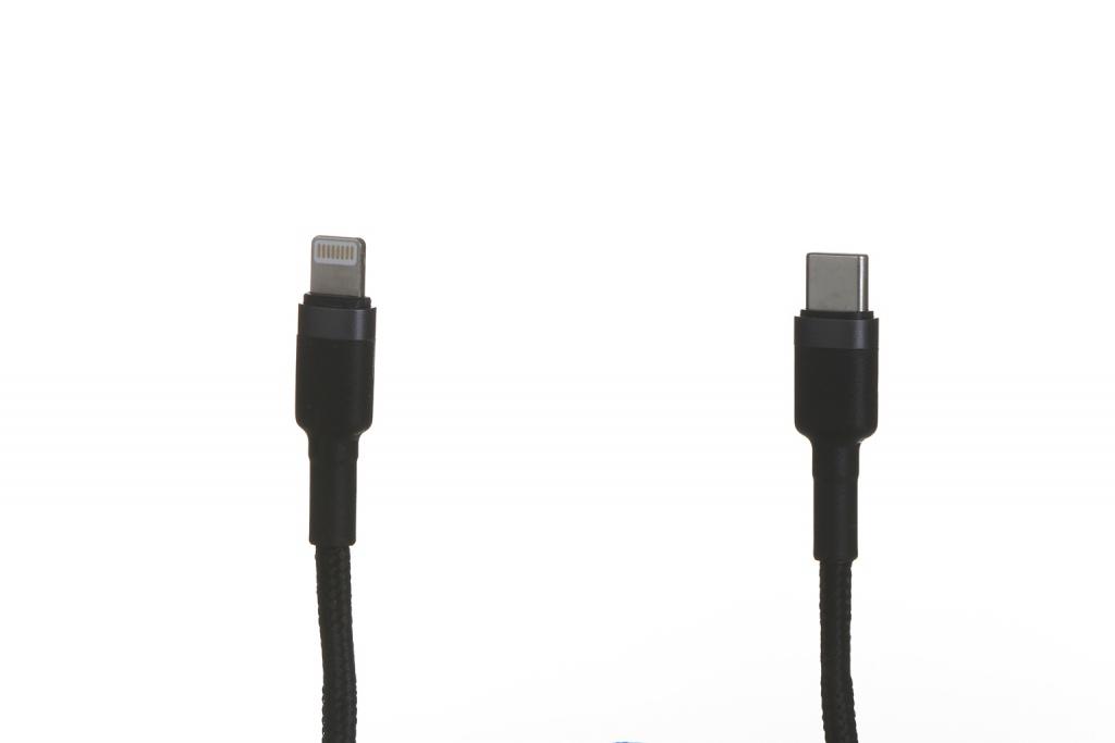 Аксессуар Baseus Cafule Cable Type-C-Lightning PD 18W 1m Grey-Black CATLKLF-G1