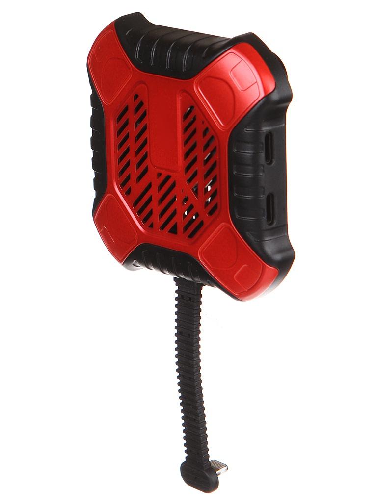 Адаптер Baseus X-Men Audio Radiator Red ACSR-XJ09
