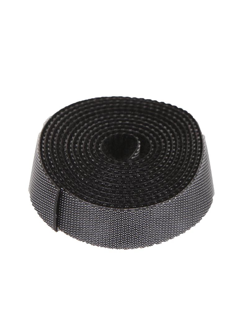 Органайзер проводов Baseus Rainbow Circle Velcro Straps 1m Black ACMGT-E01