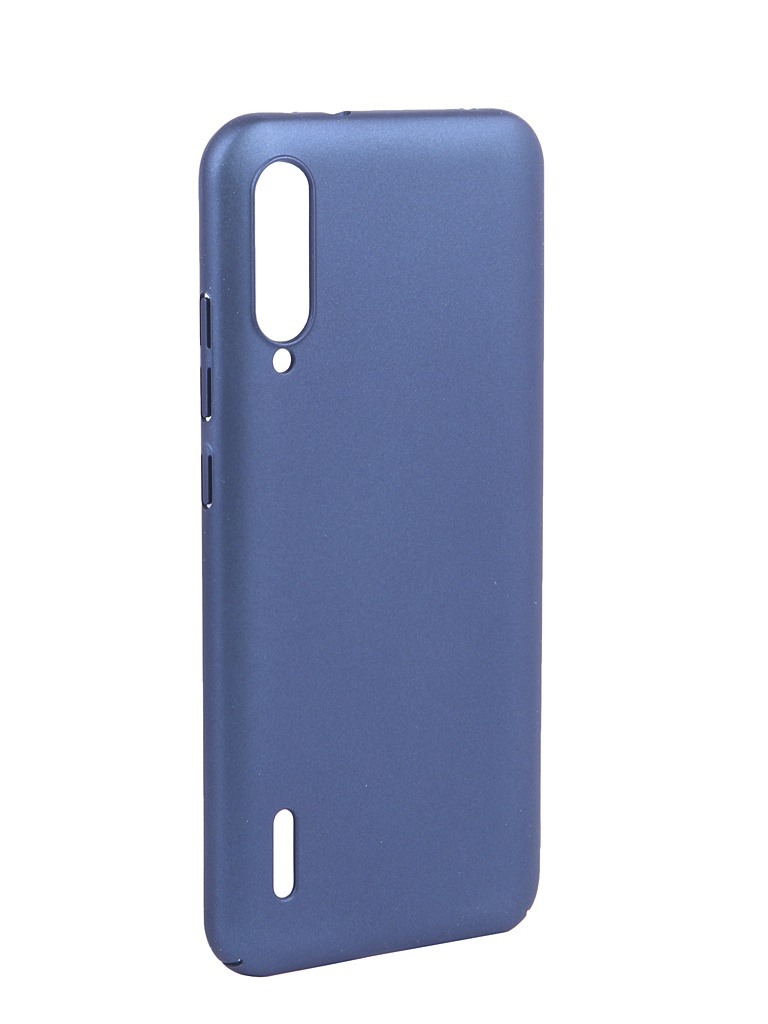 Купить Аксессуар Чехол DF для Xiaomi Mi A3/CC9E Soft-Touch xiSlim-08 Blue, DF-GROUP