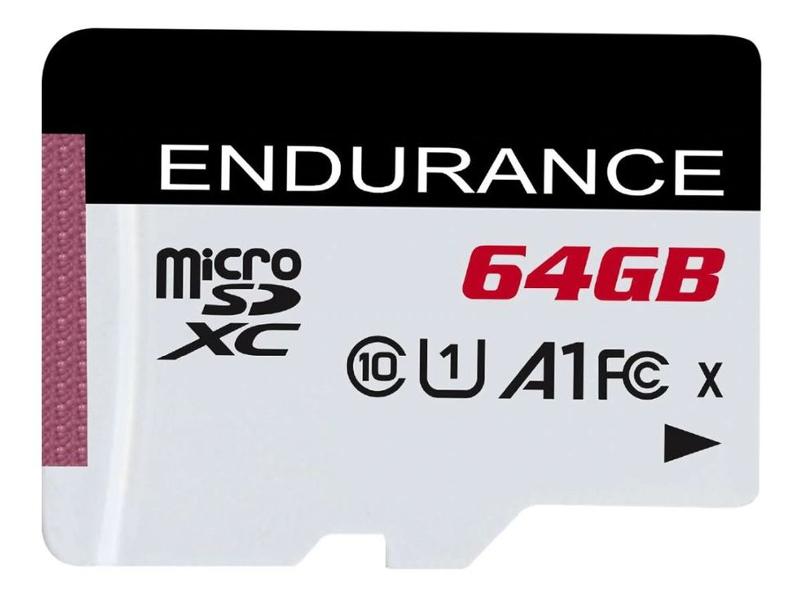 Карта памяти 64Gb - Kingston MicroSDXC Class10 High Endurance SDCE/64GB
