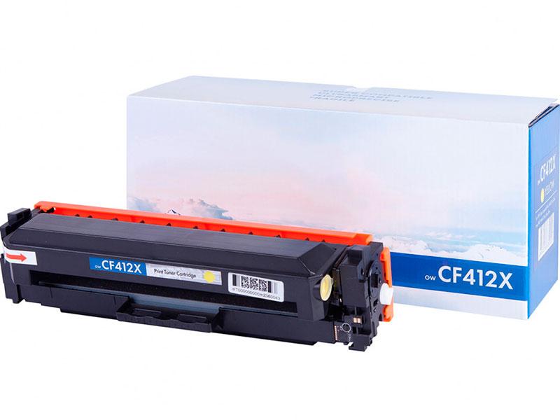 Картридж NV Print CF412X Yellow для HP