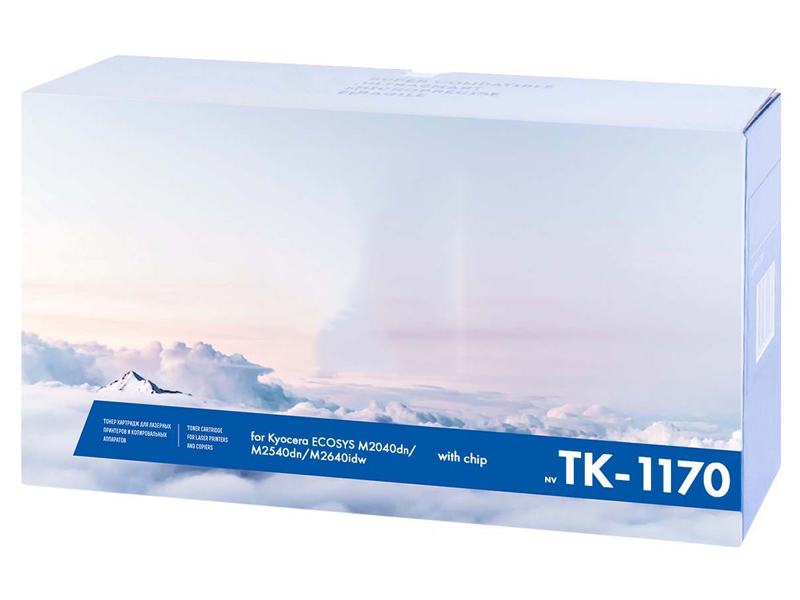 Картридж NV Print TK-1170 для Kyocera с чипом