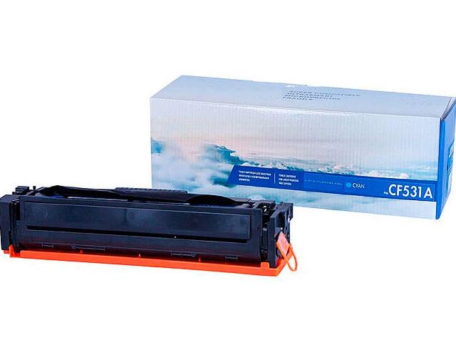 Картридж NV Print CF531A Cyan для HP Color LaserJet Pro M180n/M181fw