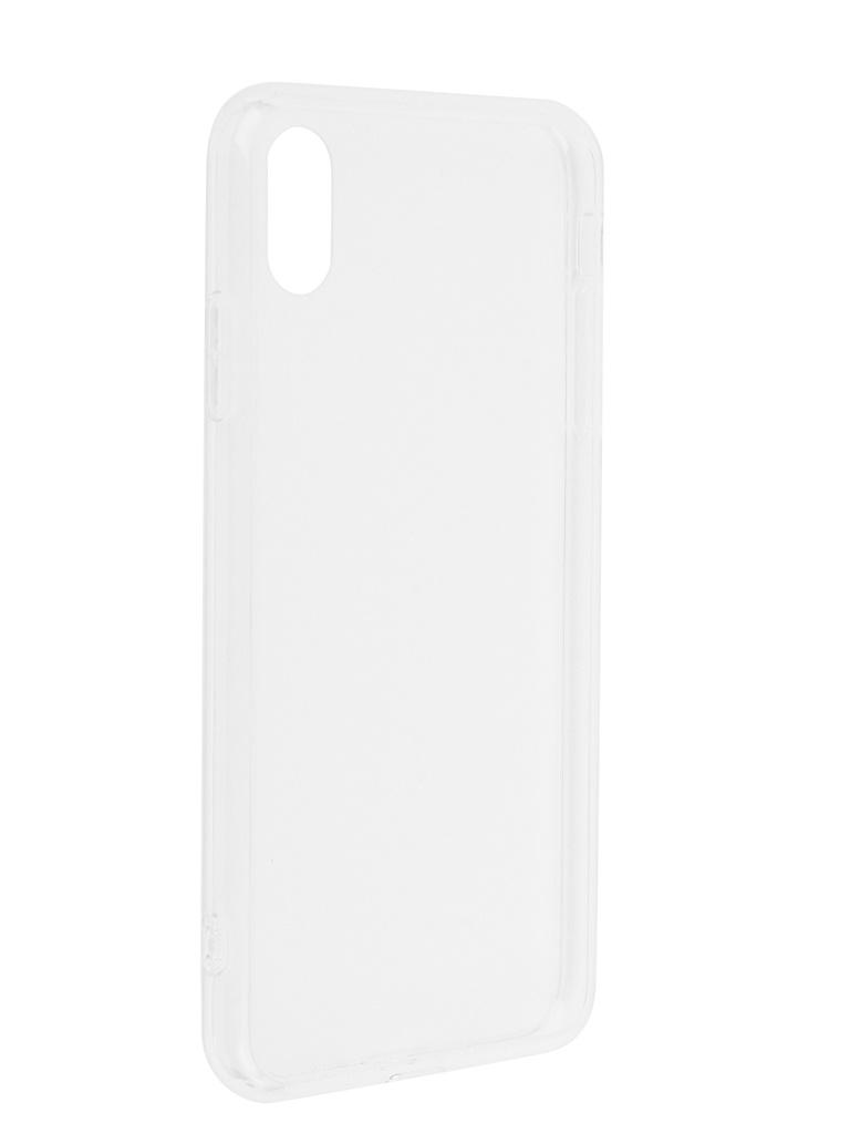 Купить Аксессуар Чехол Liberty Project для APPLE iPhone Xs Max Glass Case Transparent-Transparent Frame 0L-00042114
