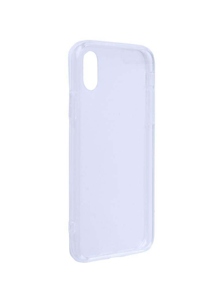 Купить Аксессуар Чехол Liberty Project для APPLE iPhone X/Xs Glass Case Transparent-Transparent Frame 0L-00042112