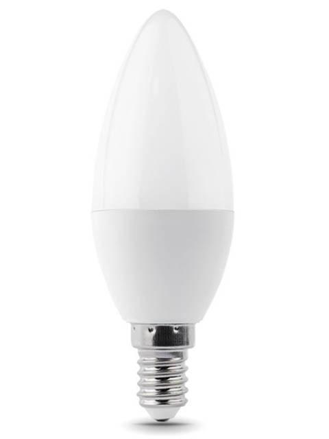 Лампочка Gauss Elementary E14 Свеча 8W 560Lm 6500K 33138  - купить со скидкой