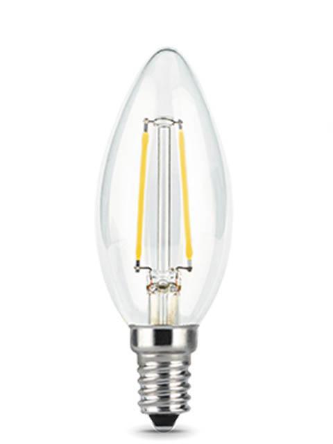 Купить Лампочка Gauss Filament E14 Свеча 7W 550Lm 2700K Step Dimmable 103801107-S