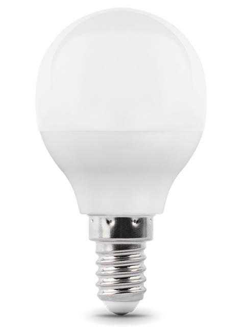 Купить Лампочка Gauss E14 Шар 6.5W 520Lm 3000K 105101107