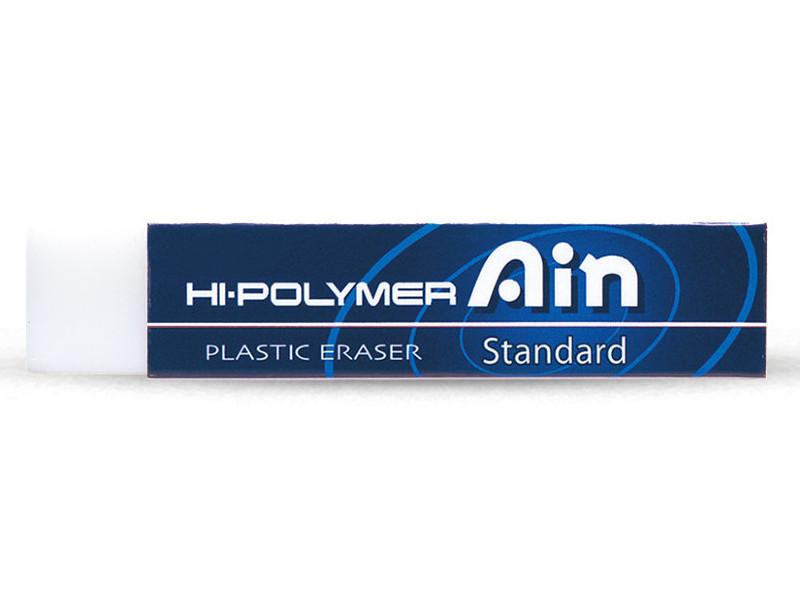 Ластик Pentel Hi-Polymer Eraser Ain Standart 65x13.6x13.6mm ZETH07