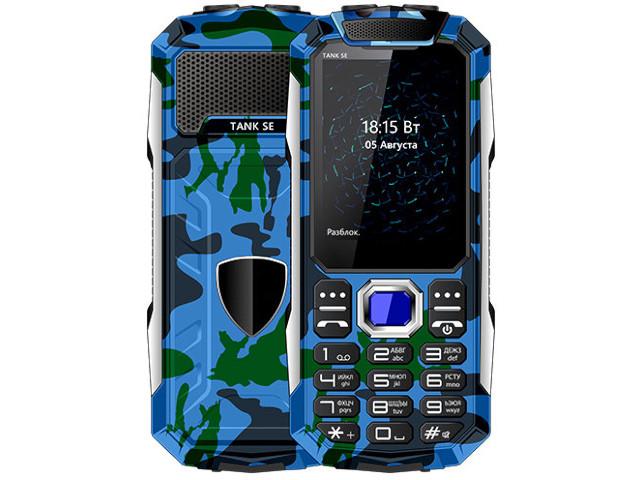 Сотовый телефон BQ 2432 Tank SE Camouflage Blue