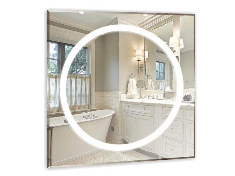 Зеркало Mixline Меридиан 700x700mm LED Backlight 529386