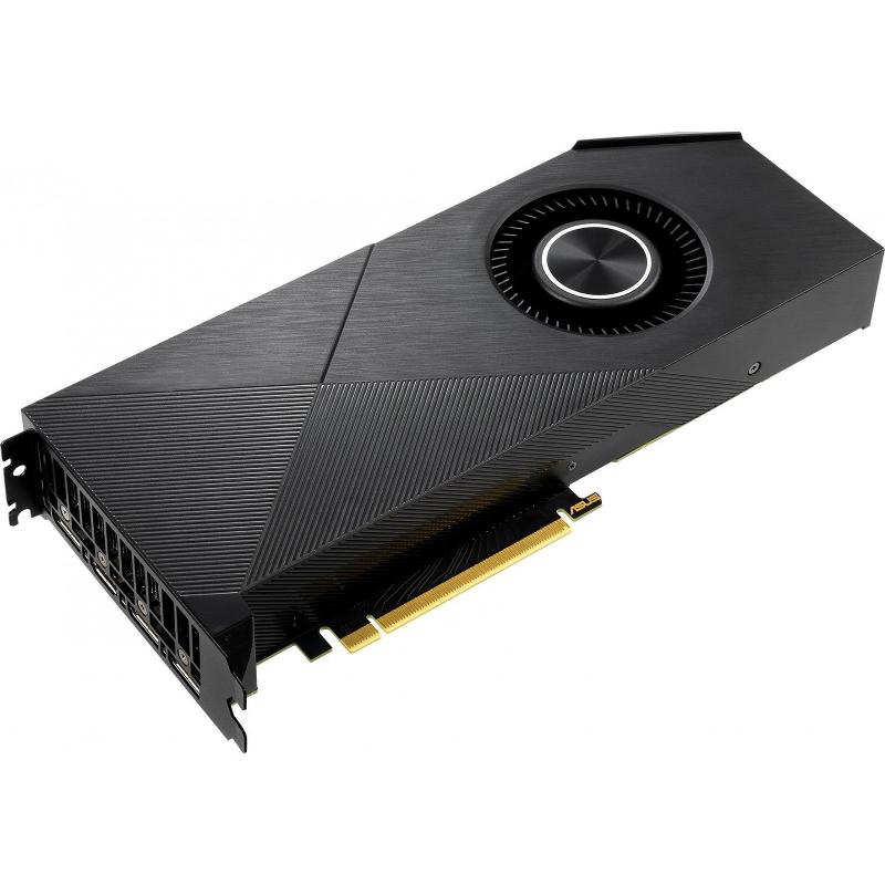 Купить Видеокарта ASUS Turbo GeForce RTX 2070 Super Evo 1650Mhz PCI-E 3.0 8192Mb 14000Mhz 256 bit 2xDP 2xHDMI TURBO-RTX2070S-8G-EVO