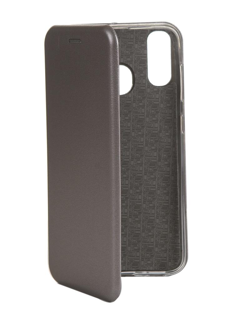 Купить Чехол Innovation для Samsung Galaxy A20 / A30 Book Silicone Magnetic Rose Gold 15486