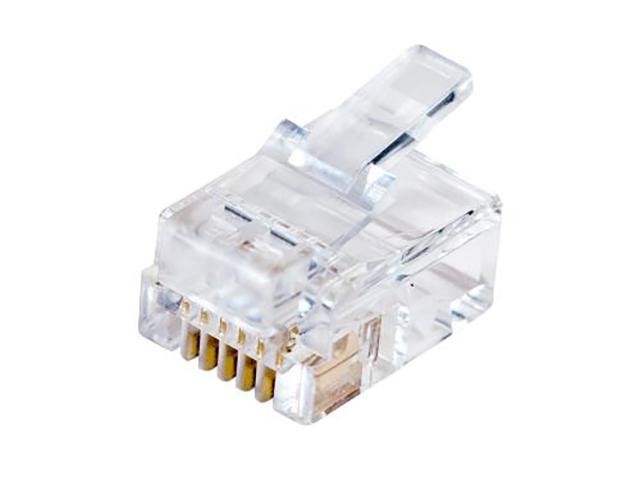 Коннектор 5bites RJ-12 6P4C US020A - 100шт коннектор rj 12 6p4c 100шт proconnect 05 1012 3