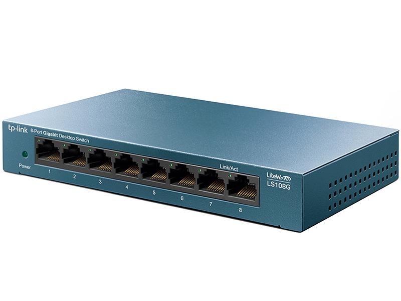 Коммутатор TP-LINK LiteWave LS108G